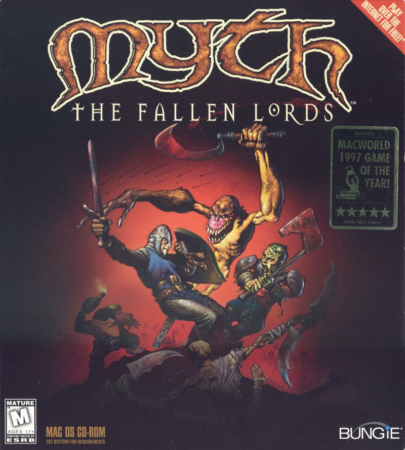 Myth: The Fallen Lords Macintosh Front Cover