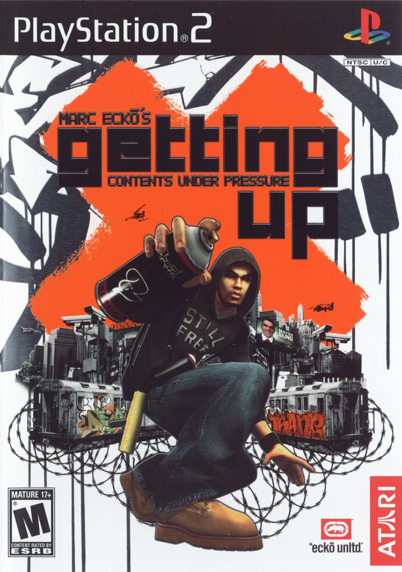 Contents Under Pressure: Marc Ecko's Getting Up: Contents Under Pressure (2006