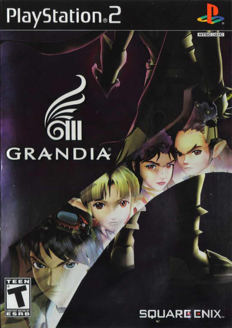 Grandia III PlayStation 2 Front Cover