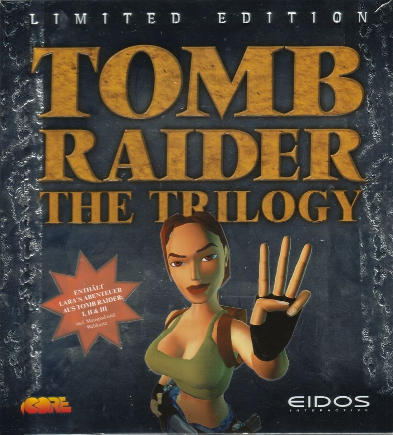 Tomb Raider: The Trilogy (Limited Edition) Windows Front Cover