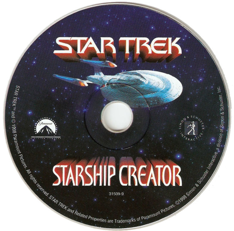 Star Trek: Starship Creator Macintosh Media