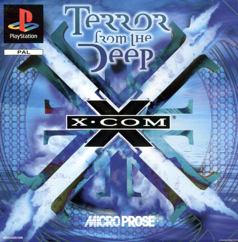 X-COM: Terror from the Deep PlayStation Front Cover