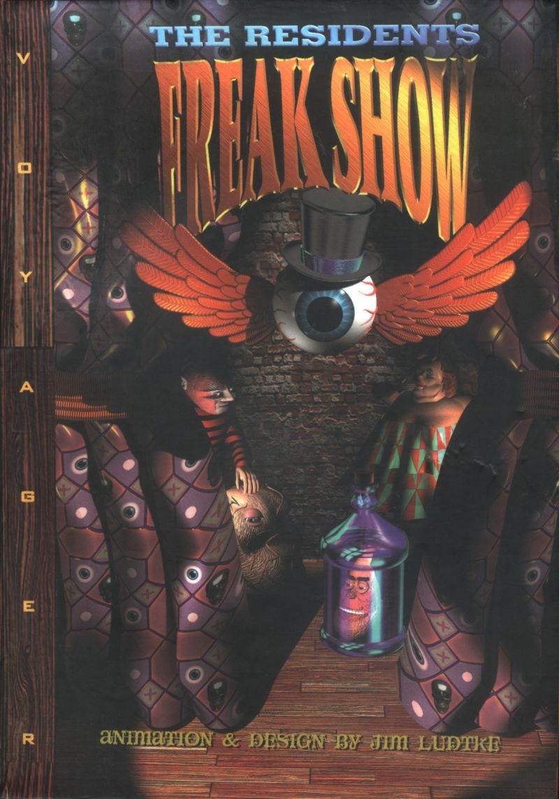 The residents: freak show [PC] 127338-the-residents-freak-show-macintosh-front-cover