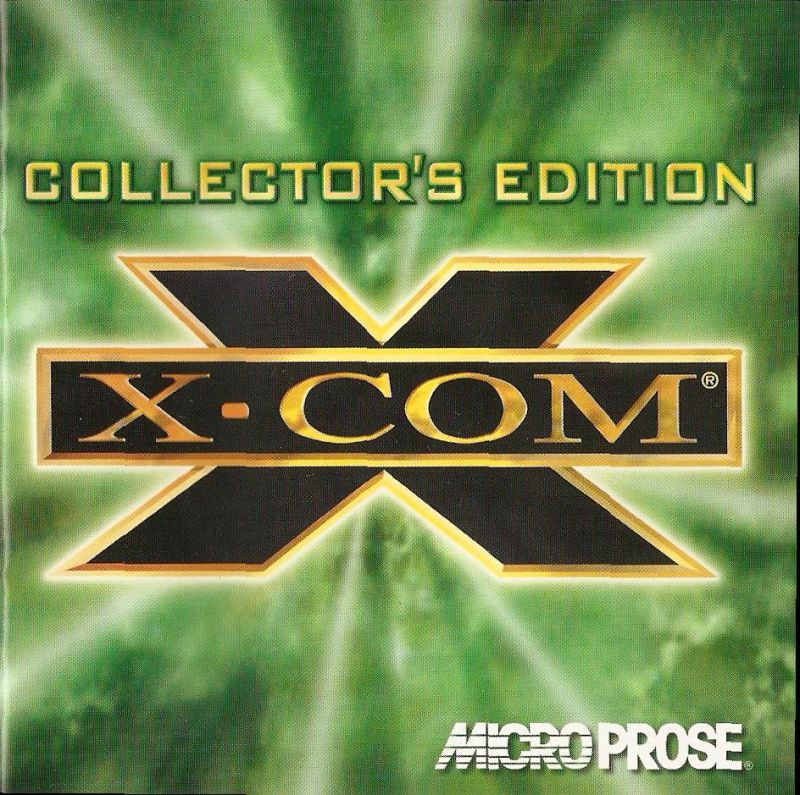 X-COM (Collector's Edition) DOS Other Jewel Case - Front