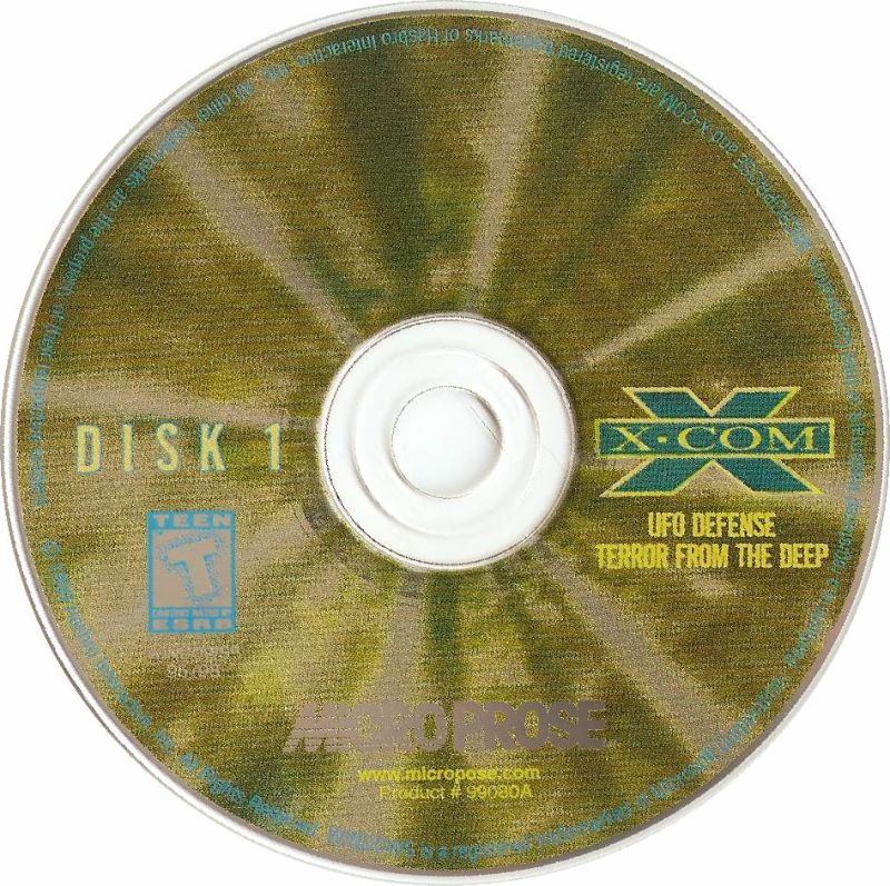 X-COM (Collector's Edition) DOS Media Disc 1