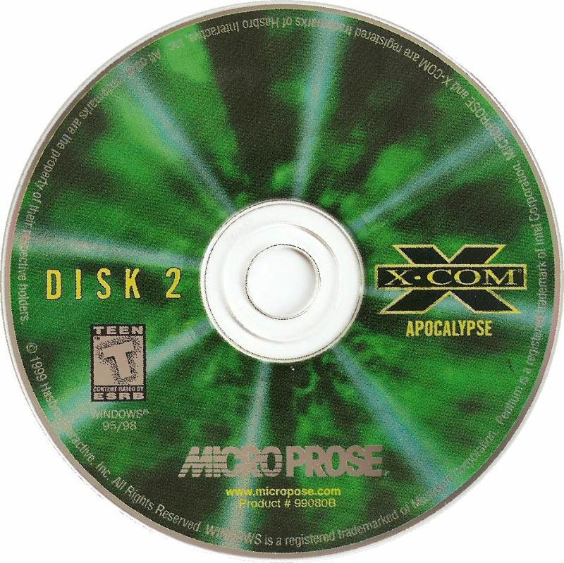 X-COM: Collector's Edition DOS Media Disc 2
