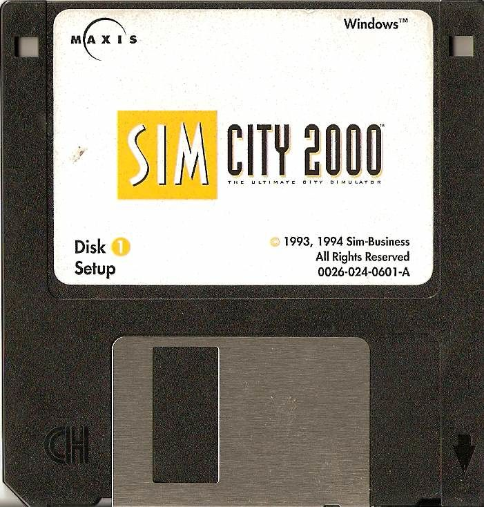 SimCity 2000 Windows 3.x Media