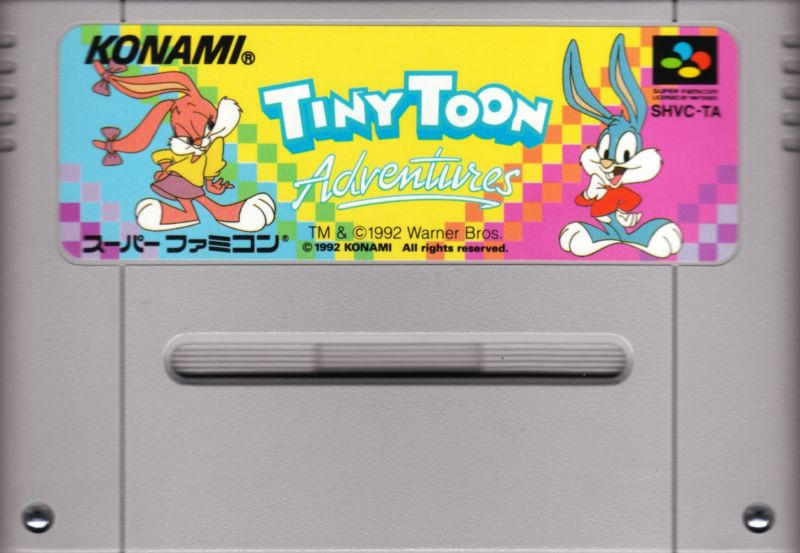 Tiny Toon Adventures: Buster Busts Loose! SNES Media