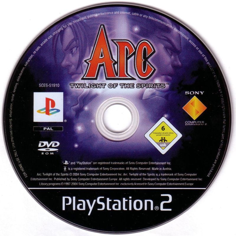 Arc the Lad: Twilight of the Spirits PlayStation 2 Media
