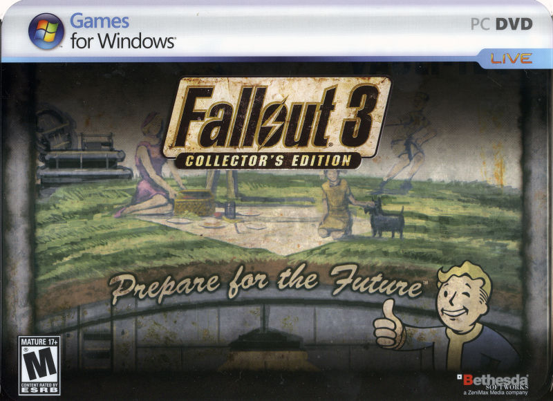 Fallout 3 (Collector's Edition) Windows Front Cover