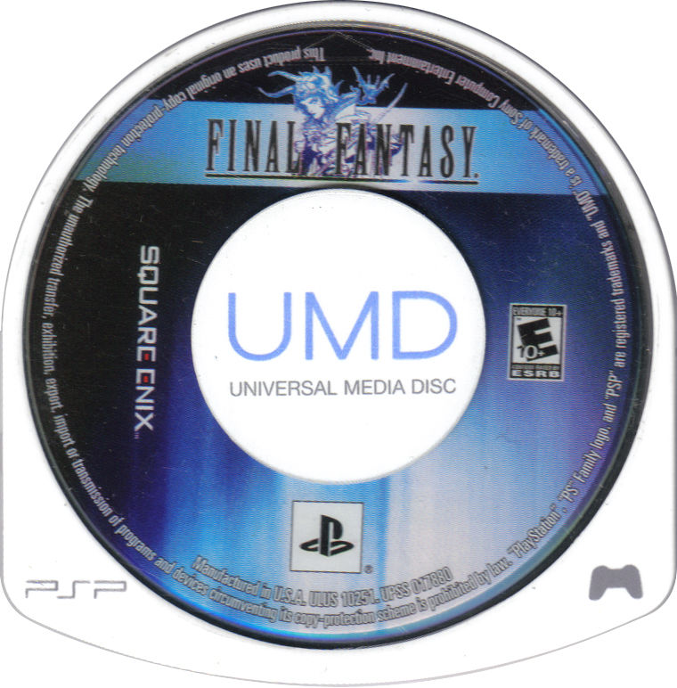 Final Fantasy PSP Media