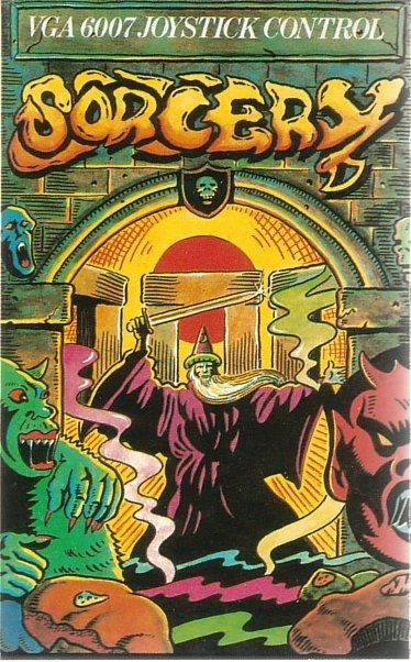 Sorcery Commodore 64 Front Cover
