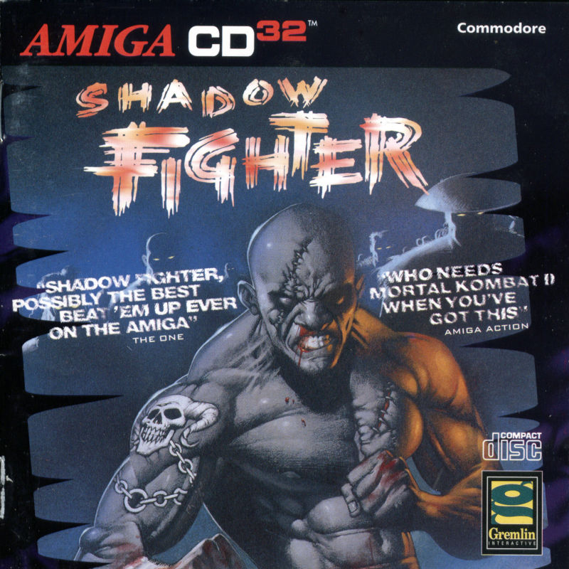 Shadow Fighter Amiga CD32 Front Cover