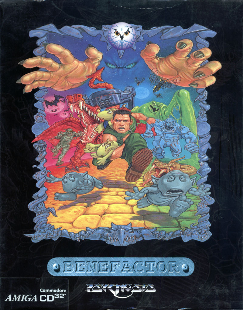 Benefactor Amiga CD32 Front Cover