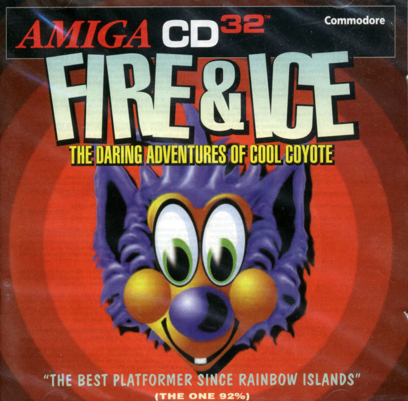 Fire & Ice Amiga CD32 Front Cover