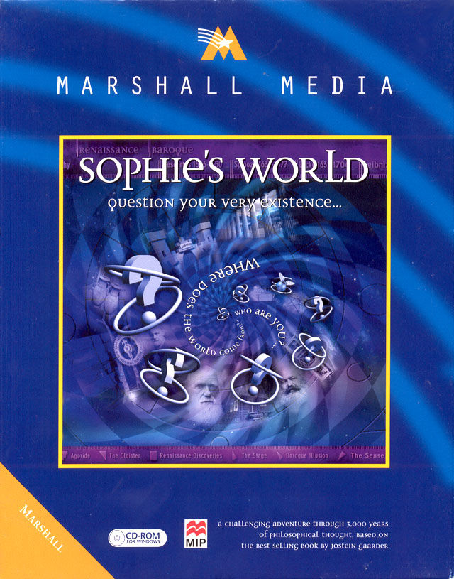 Sophie's World Windows Front Cover