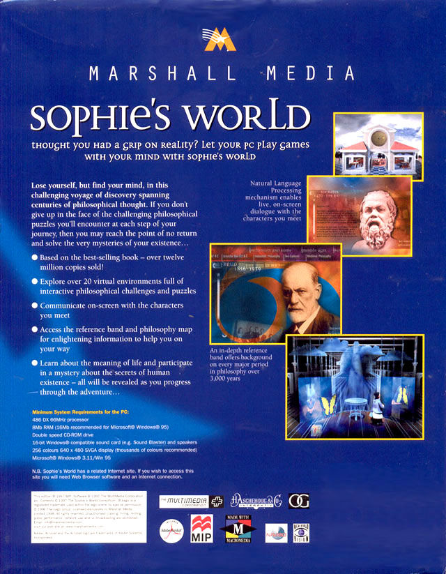 sophies world review Sophie's world questions and answers - discover the enotescom community of teachers, mentors and students just like you that can answer any question you might have on sophie's world.