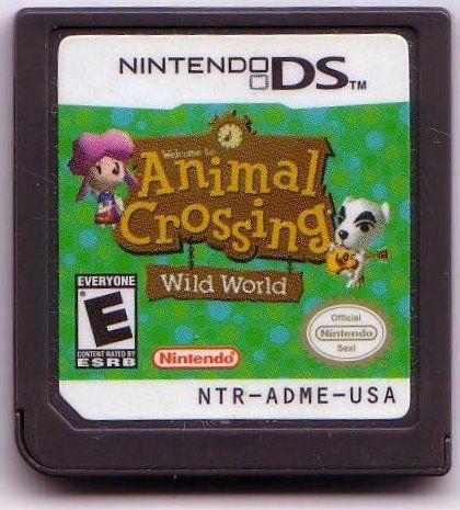 Animal Crossing: Wild World Nintendo DS Media