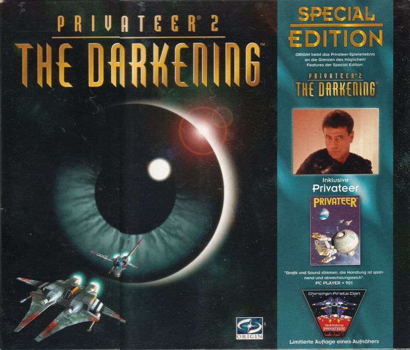 Privateer 2: The Darkening (Special Edition) DOS Front Cover