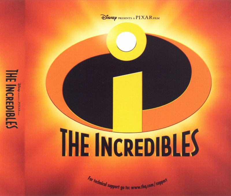 The Incredibles Macintosh Other Jewel Case - Insert