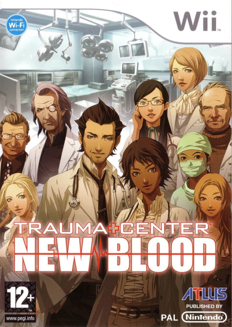 Trauma Center: New Blood Wii Front Cover