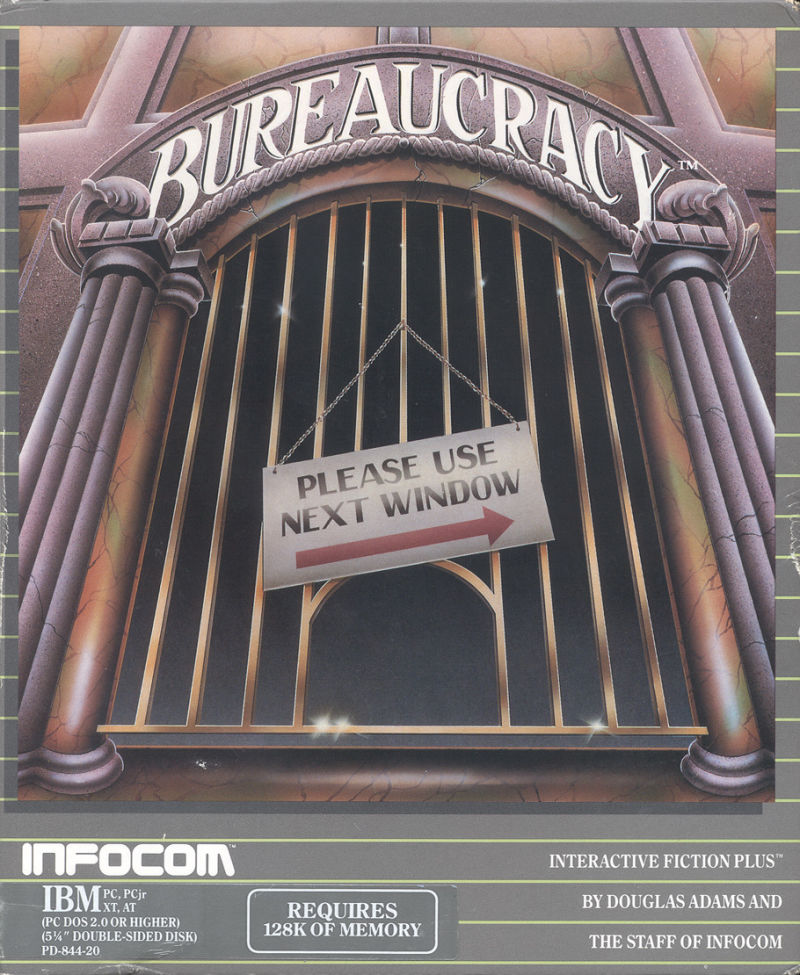Bureaucracy DOS Front Cover