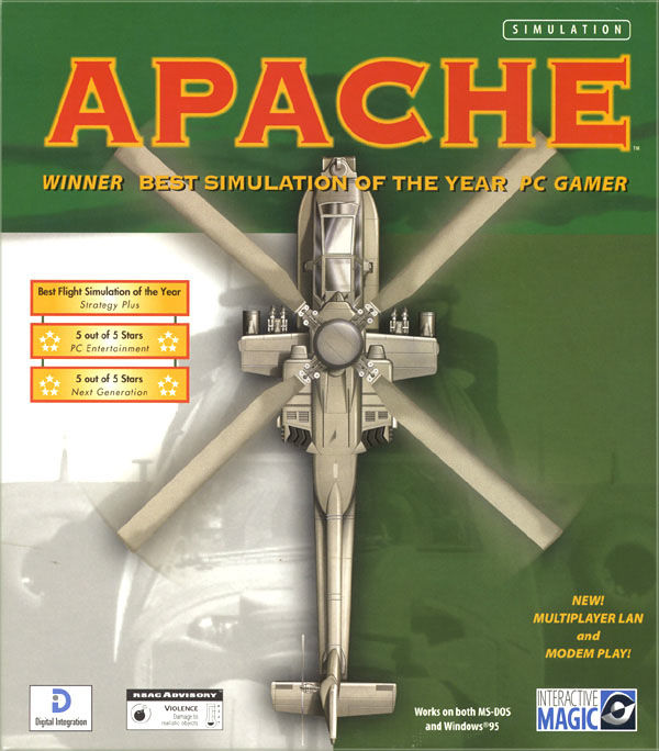 Apache DOS Front Cover