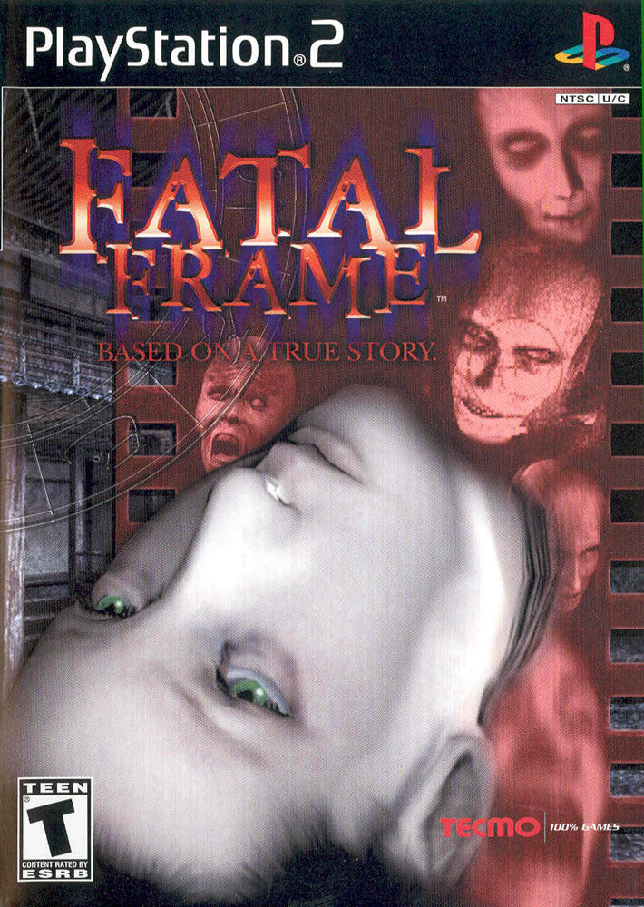 Fatal Frame PlayStation 2 Front Cover