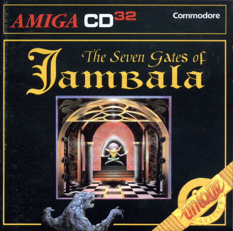 The Seven Gates of Jambala Amiga CD32 Front Cover
