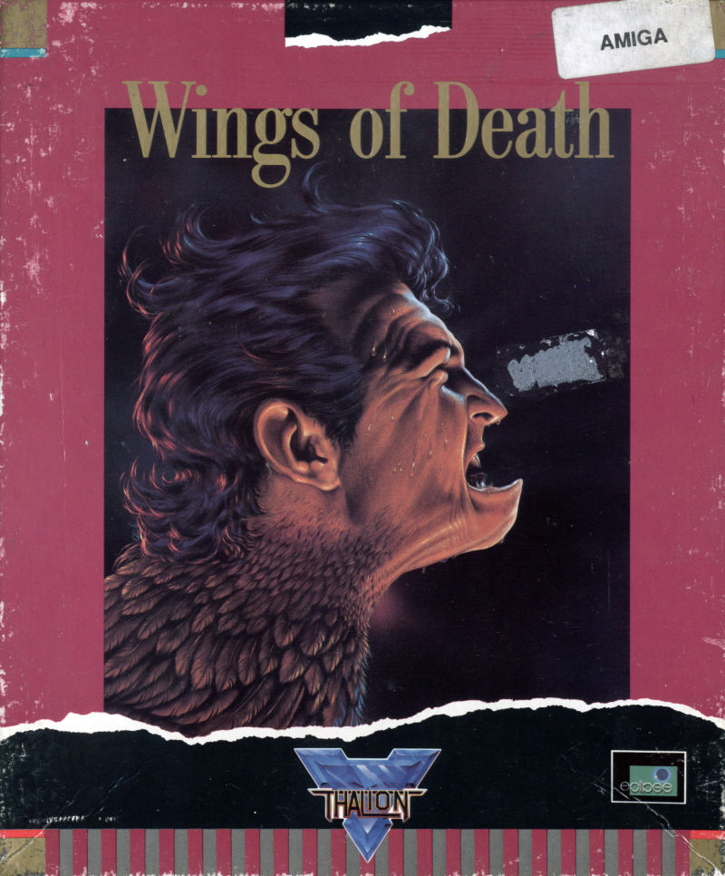 Wings of Death Amiga Front Cover