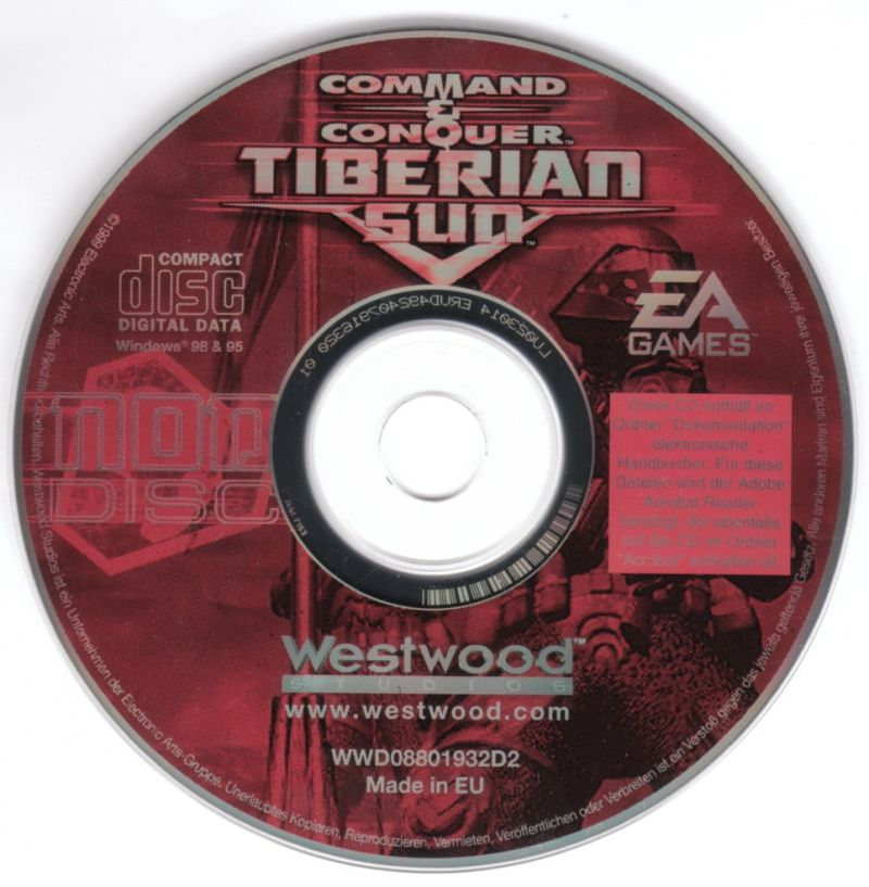 Command & Conquer: Tiberian Sun Windows Media Disc 1