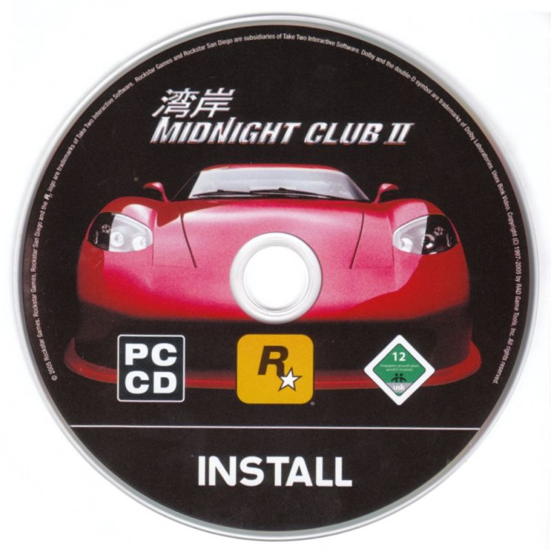 Midnight Club II Windows Media