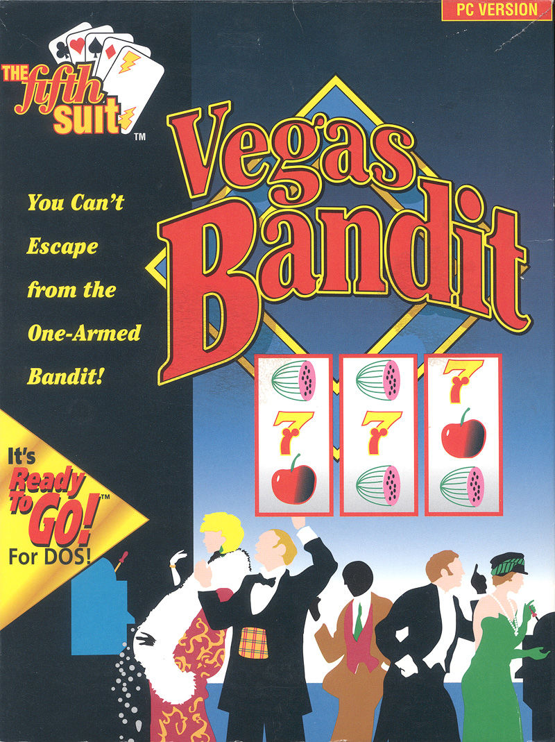 Vegas Bandit DOS Front Cover