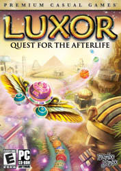 Luxor: Quest for the Afterlife Windows Front Cover
