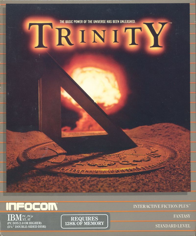 Trinity DOS Front Cover