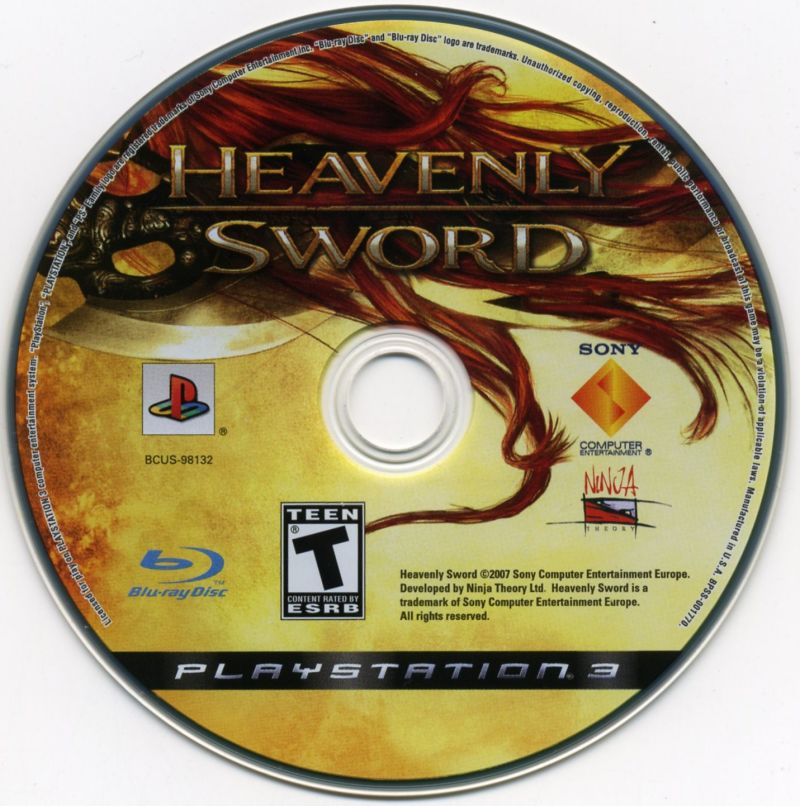 Heavenly Sword PlayStation 3 Media