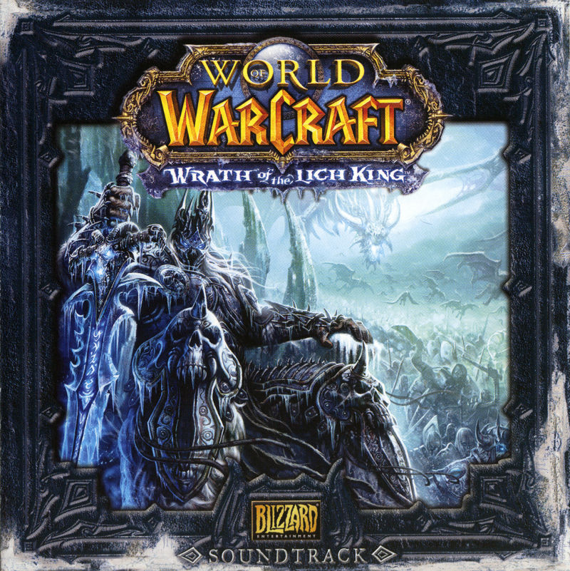 World of Warcraft: Wrath of the Lich King (Collector's Edition) Macintosh Other Jewel Case - Front (Soundtrack)