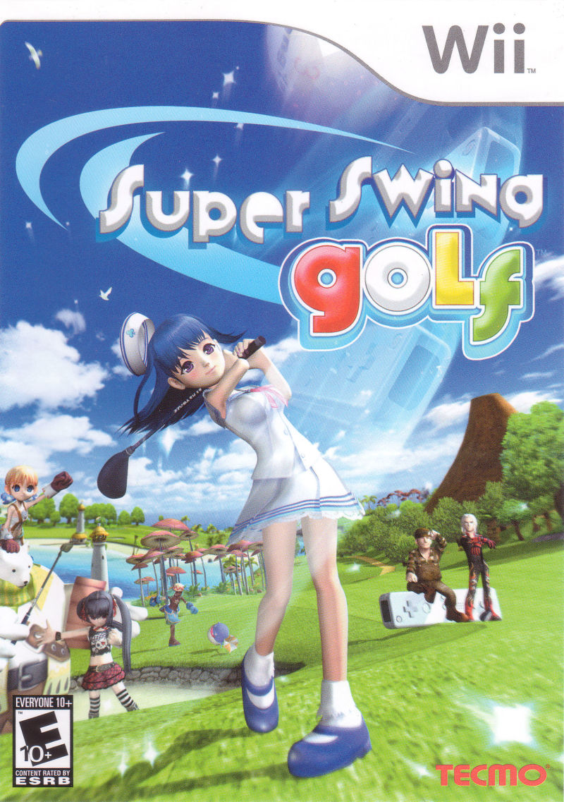 Super Swing Golf Wii Front Cover
