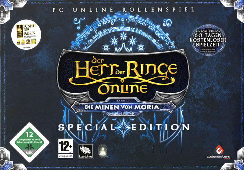 The Lord of the Rings Online: Mines of Moria (Special Edition) Windows Front Cover
