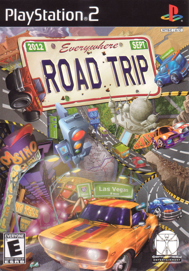 Road Trip PlayStation 2 Front Cover