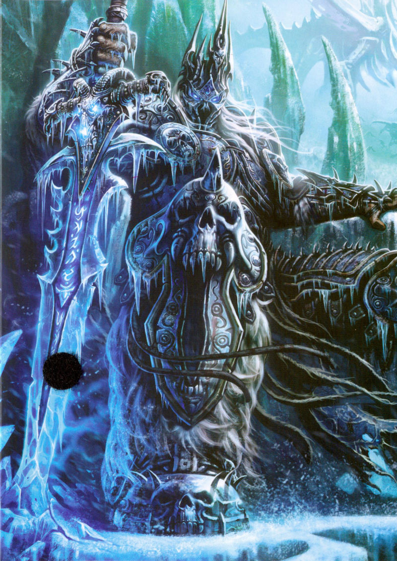 World of Warcraft: Wrath of the Lich King Macintosh Inside Cover Far Left Flap