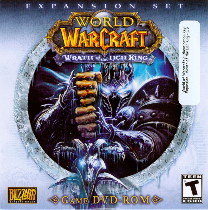 World of Warcraft: Wrath of the Lich King Macintosh Other CD Sleeve - Front