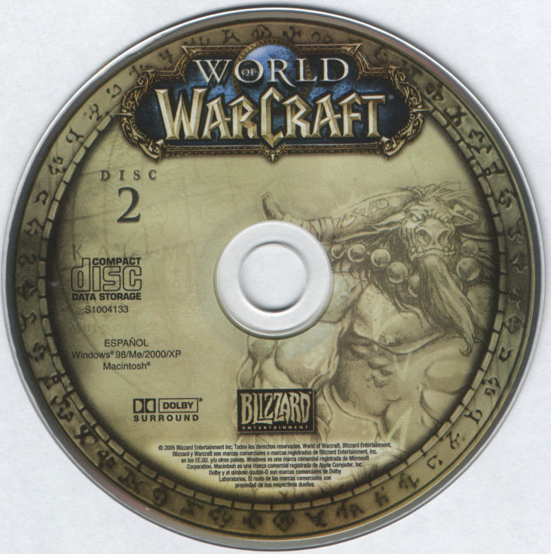 World of Warcraft Macintosh Media Disc 2