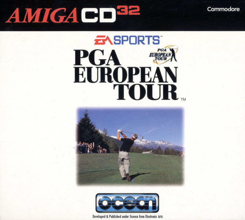 PGA European Tour Amiga CD32 Other Digipak - Front