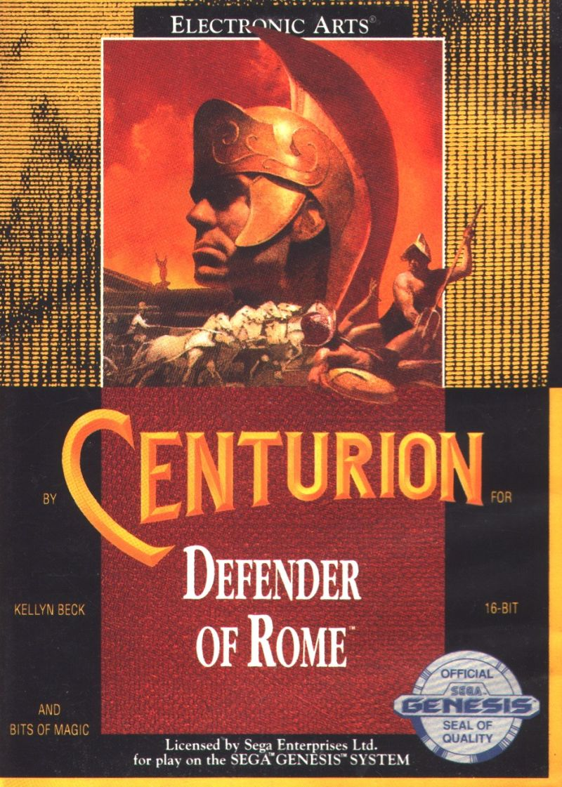 Centurion: Defender of Rome Genesis Front Cover