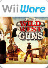 Wild West Guns Wii Front Cover