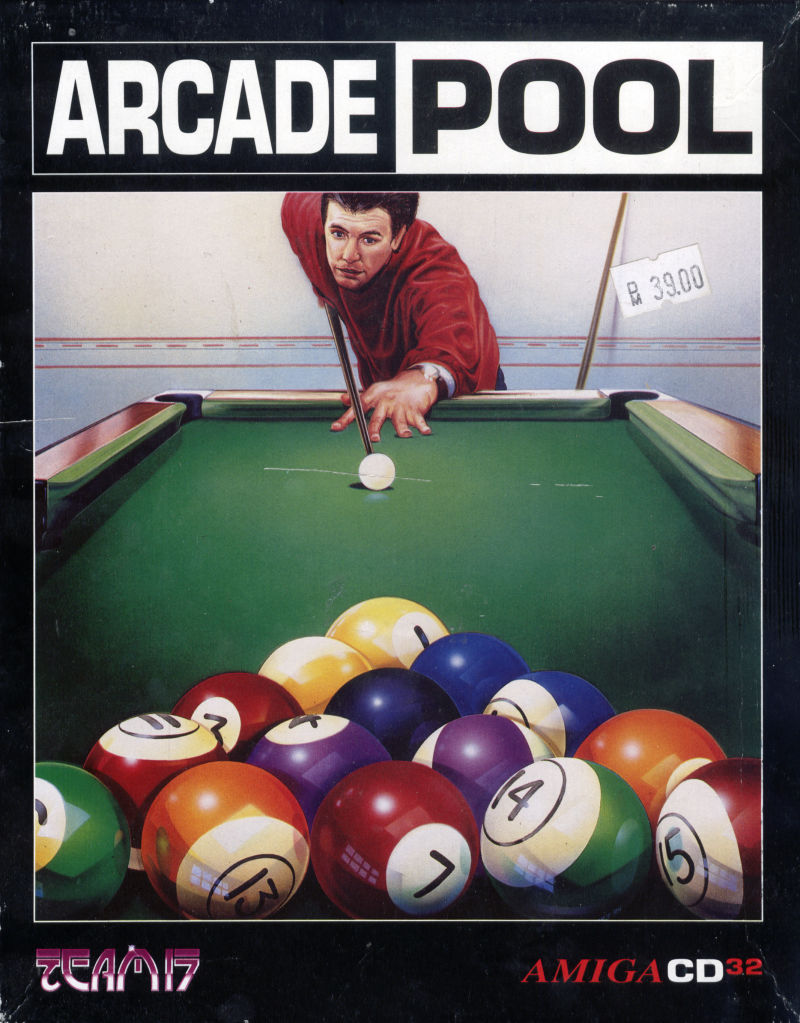 Arcade Pool Amiga CD32 Front Cover
