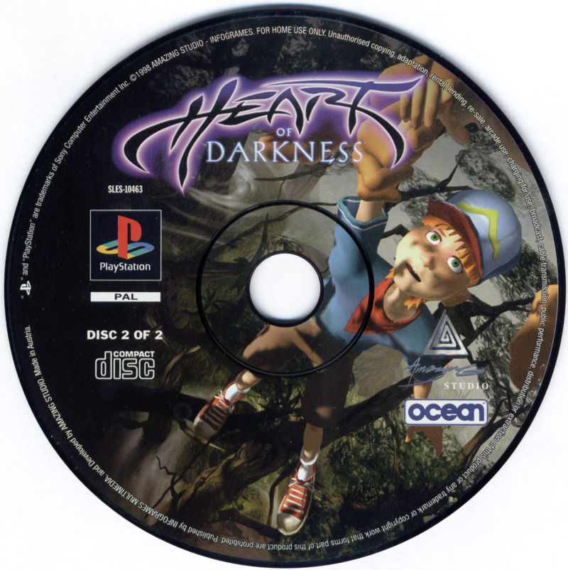 Heart of Darkness PlayStation Media Disc 2/2