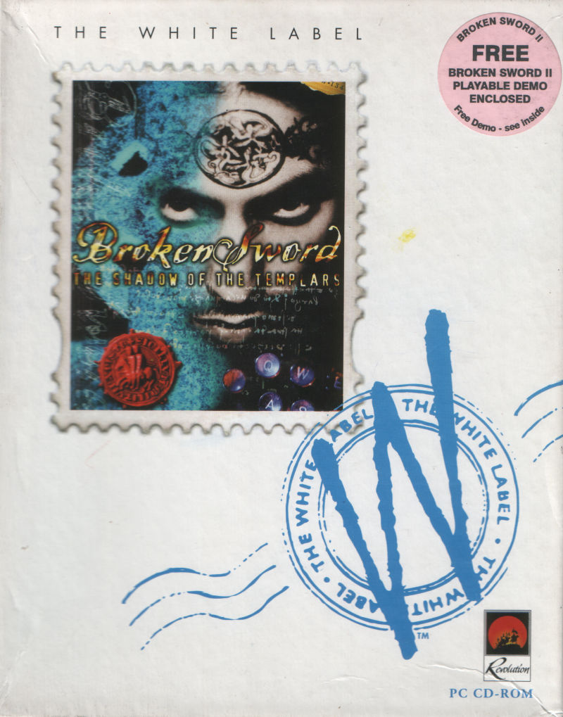 Circle of Blood DOS Front Cover