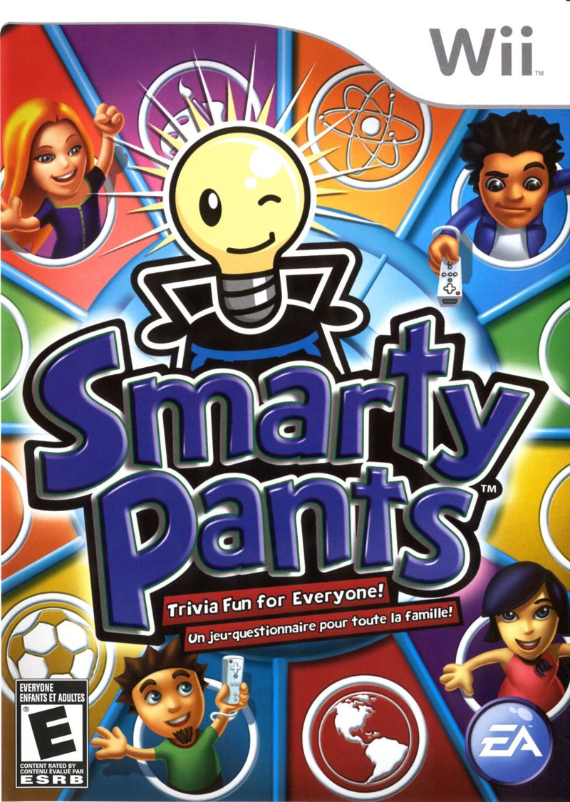 Smarty Pants Wii Front Cover